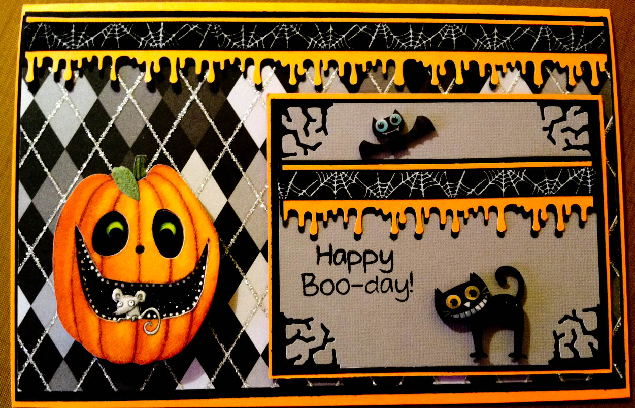 halloween birthday greeting messages ; yes