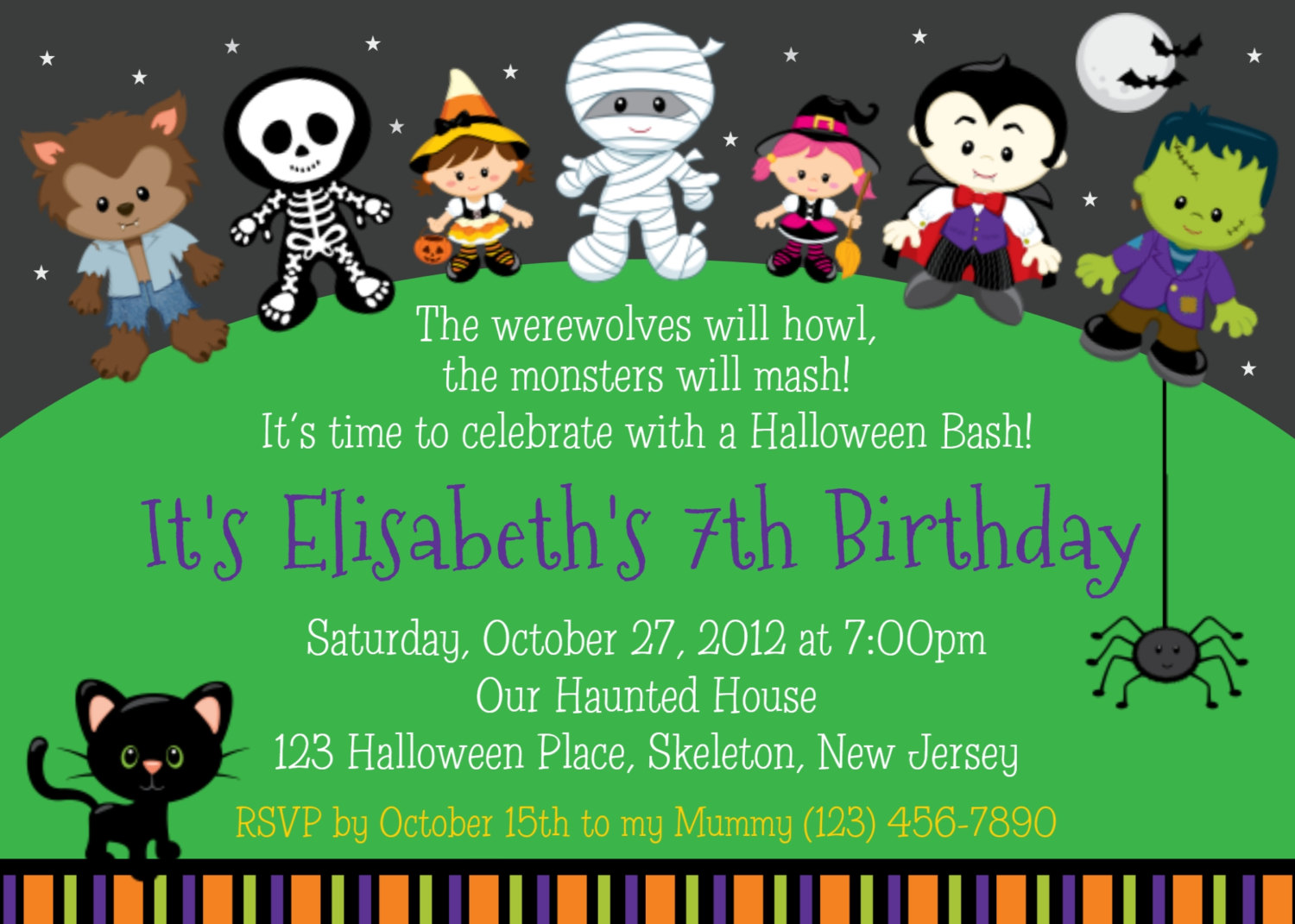 halloween themed birthday party invitation wording ; Attractive-Halloween-Birthday-Party-Invitations-To-Create-Your-Own-Birthday-Invitation-Cards