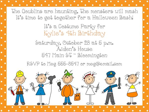 halloween themed birthday party invitation wording ; c9b5ab6c135e8fac2ec651f169f79824