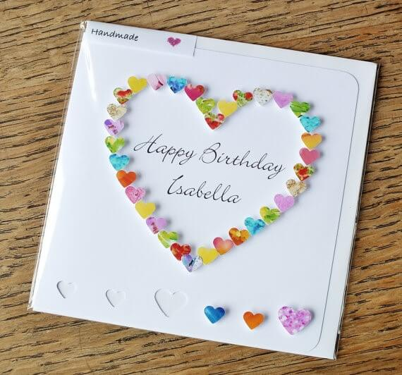 handmade birthday greeting card designs ; CardsbyGaynor