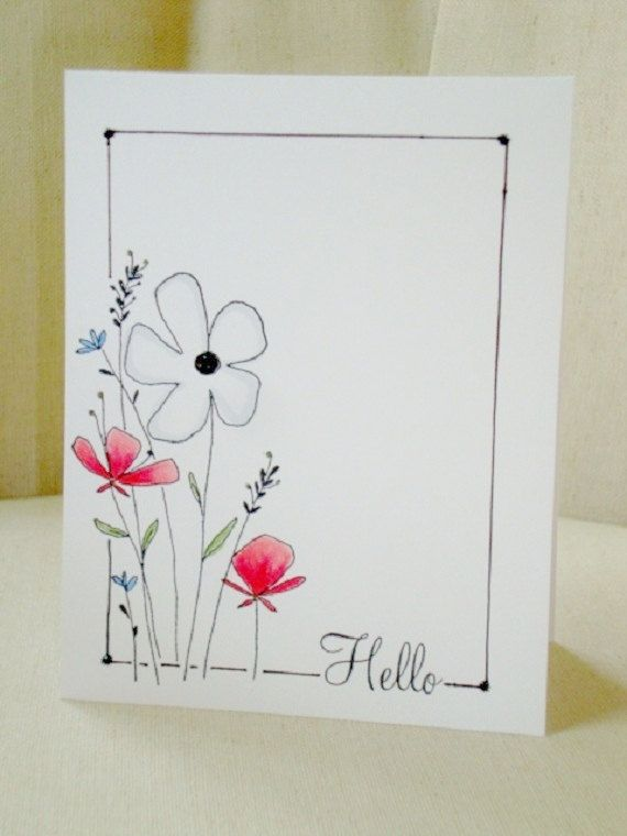 handmade drawing birthday cards ; drawing-of-greeting-cards-best-25-greeting-cards-birthday-ideas-on-pinterest-french-happy-free