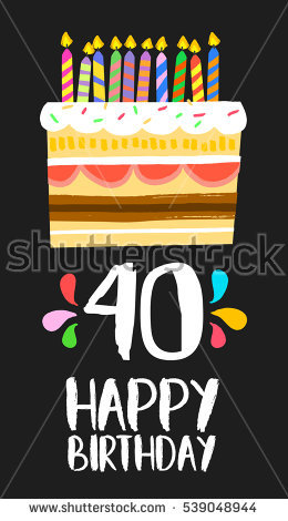 happy 40th birthday clipart ; stock-vector-happy-birthday-number-greeting-card-for-forty-years-in-fun-art-style-with-cake-and-candles-539048944