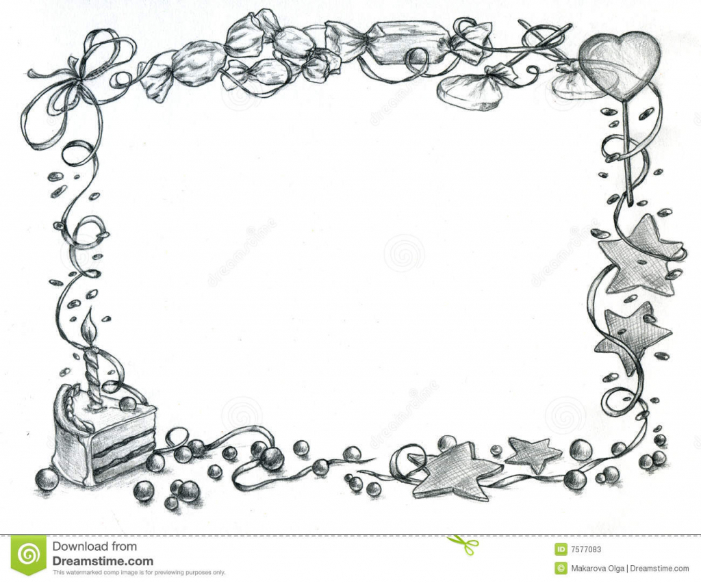 happy b day drawings ; happy-birth-day-pencil-drawing-happy-birthday-frame-royalty-free-stock-images-image-13804509