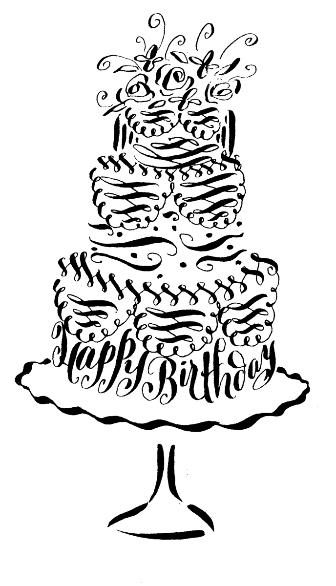 happy b day drawings ; happy-birthday-day-cake-pencil-drawings-birthday-invitations-lettering-art-studio