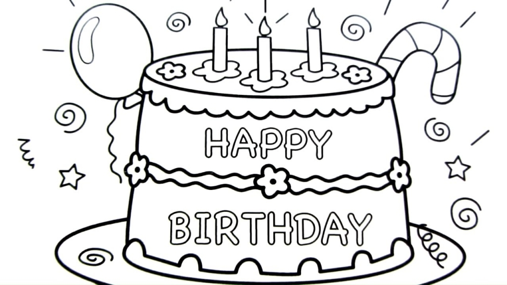 happy bday drawings ; happy-birthday-cake-drawing-pages-coloring-book-fun-art-colours