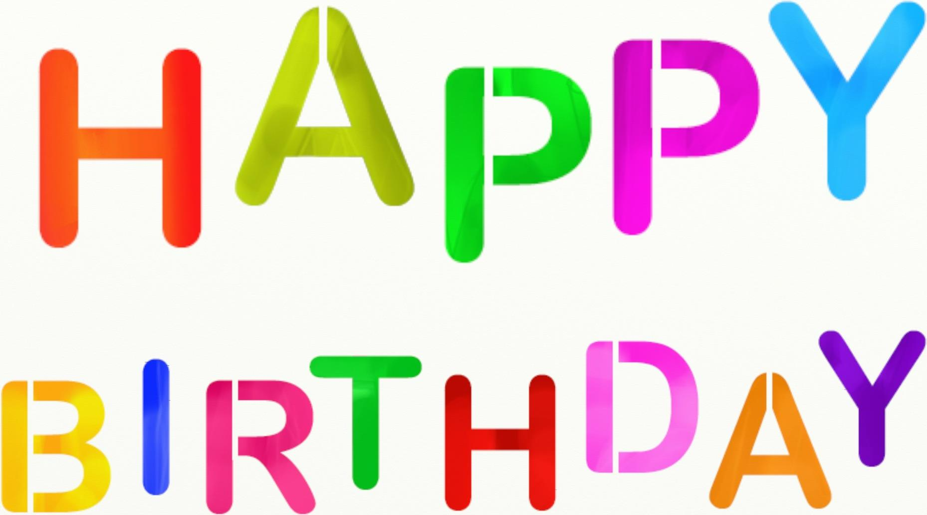 happy bday sign ; colorful-happy-birthday-sign-png-image