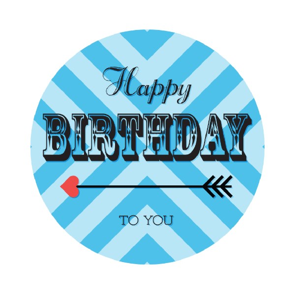 happy birthday address labels ; Love%2520Arrow%2520Birthday%2520Round%2520Labels%2520Blue