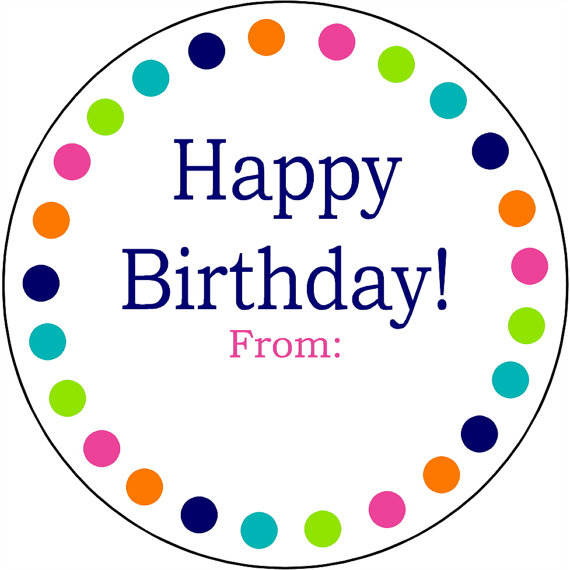 happy birthday address labels ; il_570xN