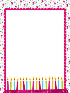 happy birthday border ; 3f3c1021e6483261be128fef4b6f7165--birthday-candles-happy-birthday