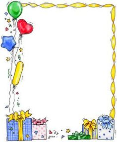 happy birthday border ; birthday-border-clipart-19