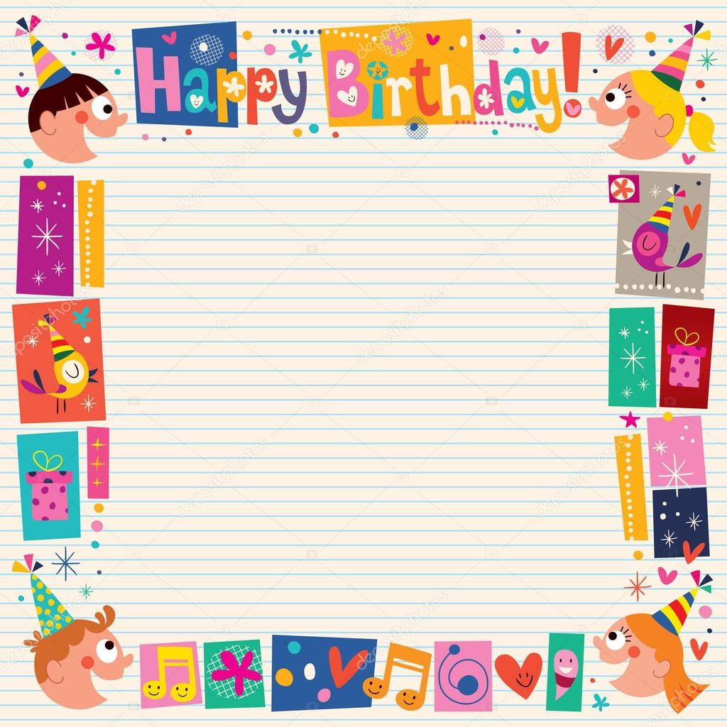 happy birthday border ; depositphotos_58829449-stock-illustration-happy-birthday-kids-decorative-border