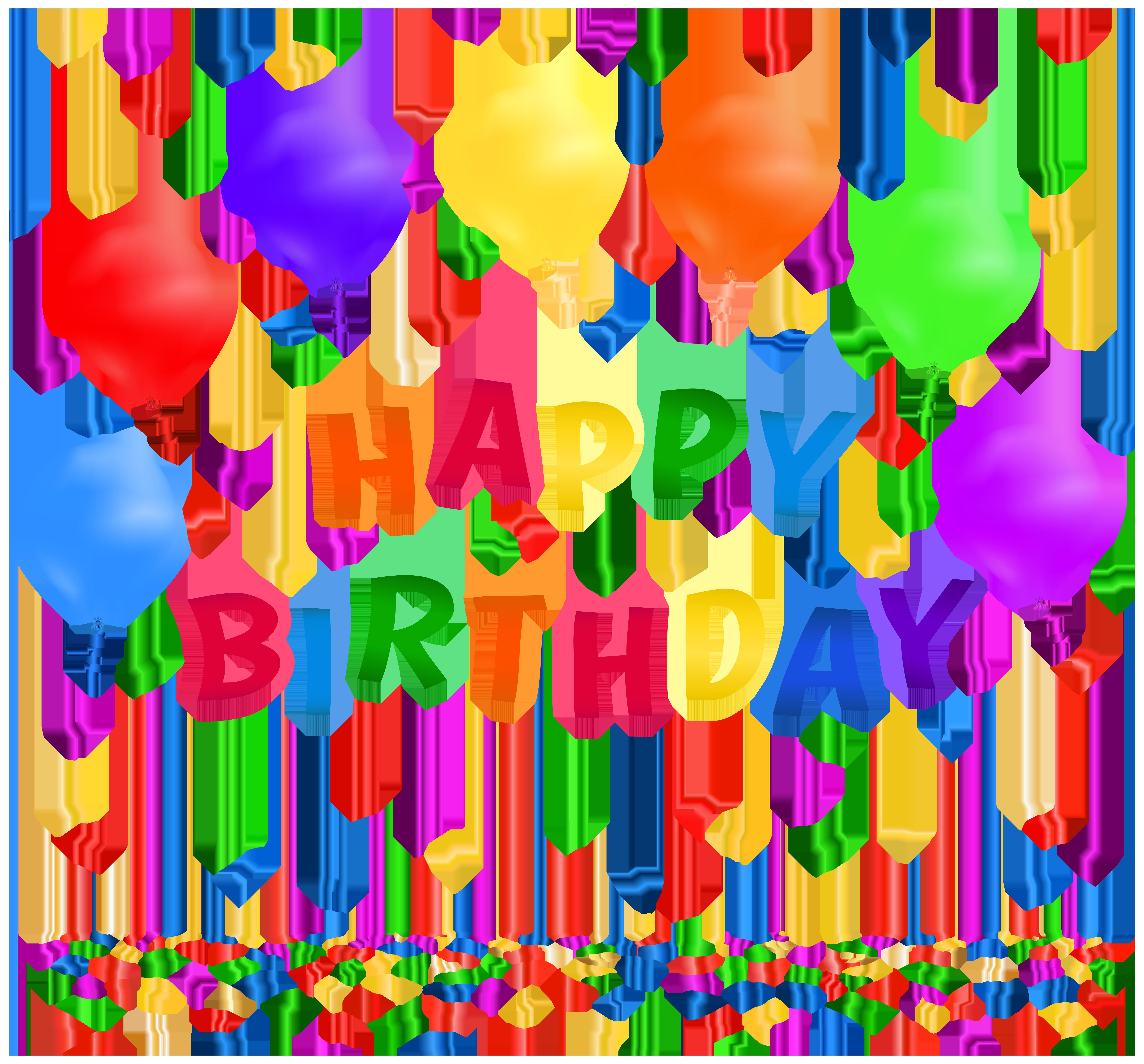 happy birthday border clip art ; Happy-birthday-with-confetti-clip-art-image