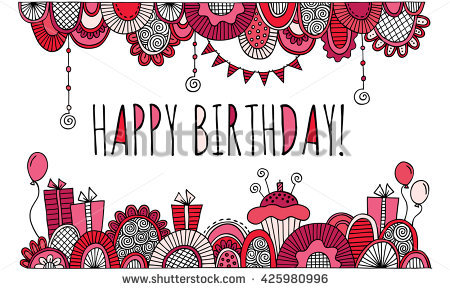 happy birthday border design ; stock-photo-happy-birthday-with-border-hand-drawn-artwork-pink-red-birthday-illustration-with-the-words-happy-425980996