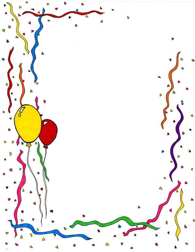 happy birthday borders and frames ; happy-birthday-border-clip-art-picture-papers
