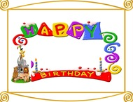 happy birthday borders for pictures ; Happy-birthday-border-2-free-clip-art-images-190x147
