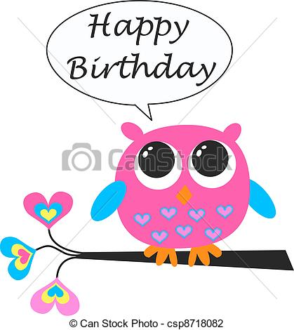 happy birthday card clipart ; happy-birthday-clip-art_csp8718082