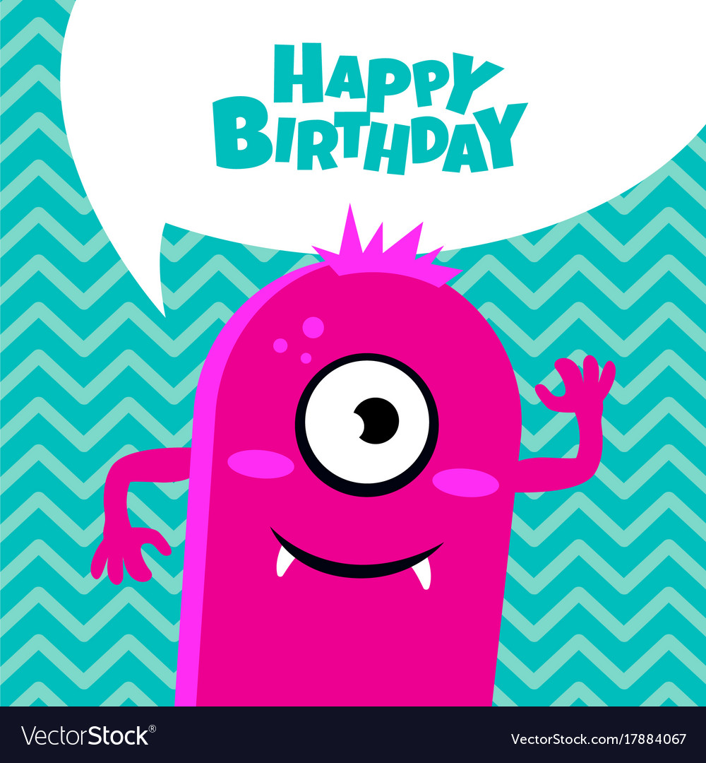 happy birthday card design images ; monster-party-card-design-happy-birthday-card-vector-17884067
