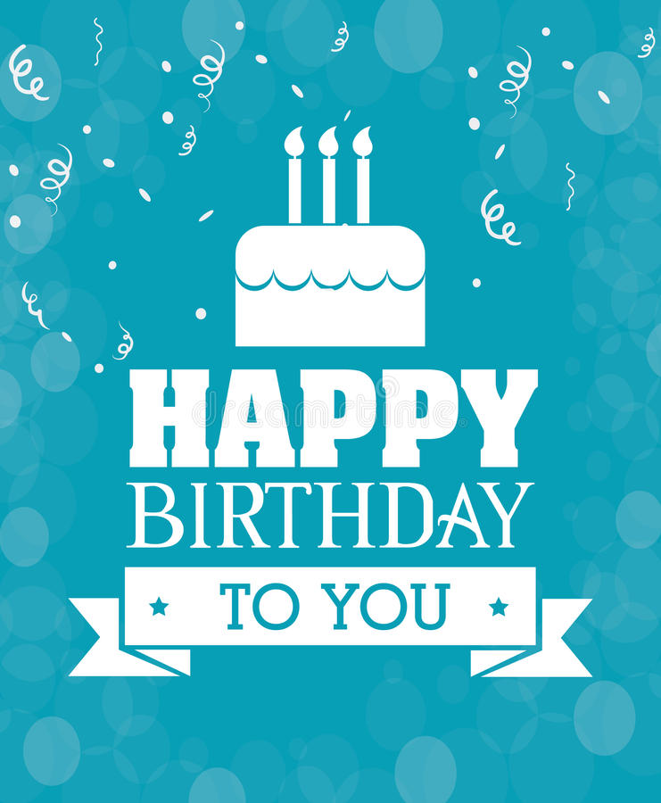 happy birthday card design with photo ; happy-birthday-card-design-colorful-vector-illustration-51852480