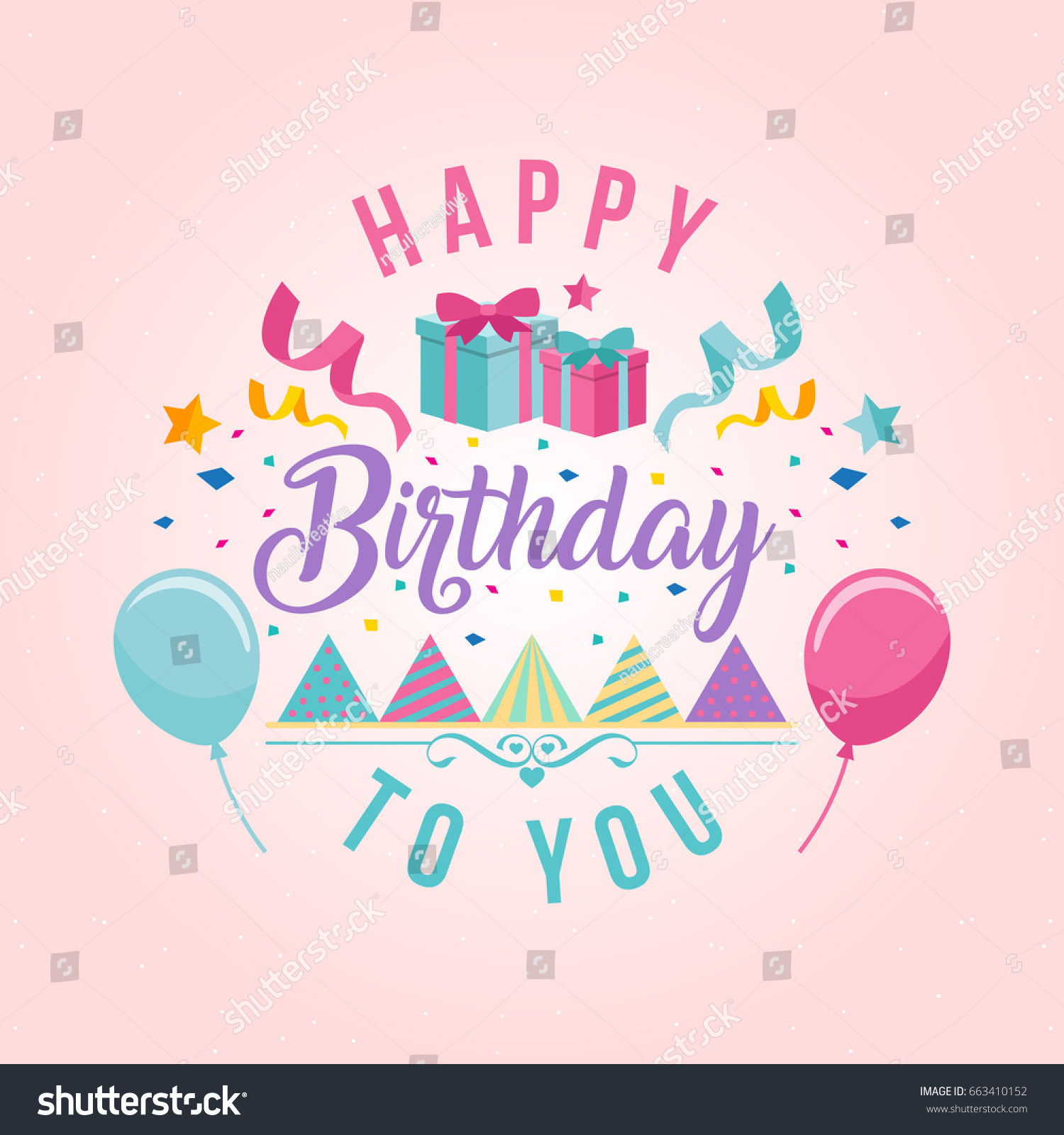 happy birthday cards pictures ; stock-vector-modern-happy-birthday-card-illustration-birthday-greeting-card-663410152