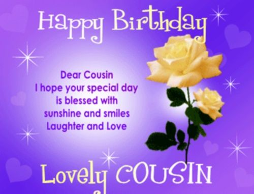 happy birthday cousin images and quotes ; b5b5067cff1c18e9b93fe664aa92af1e