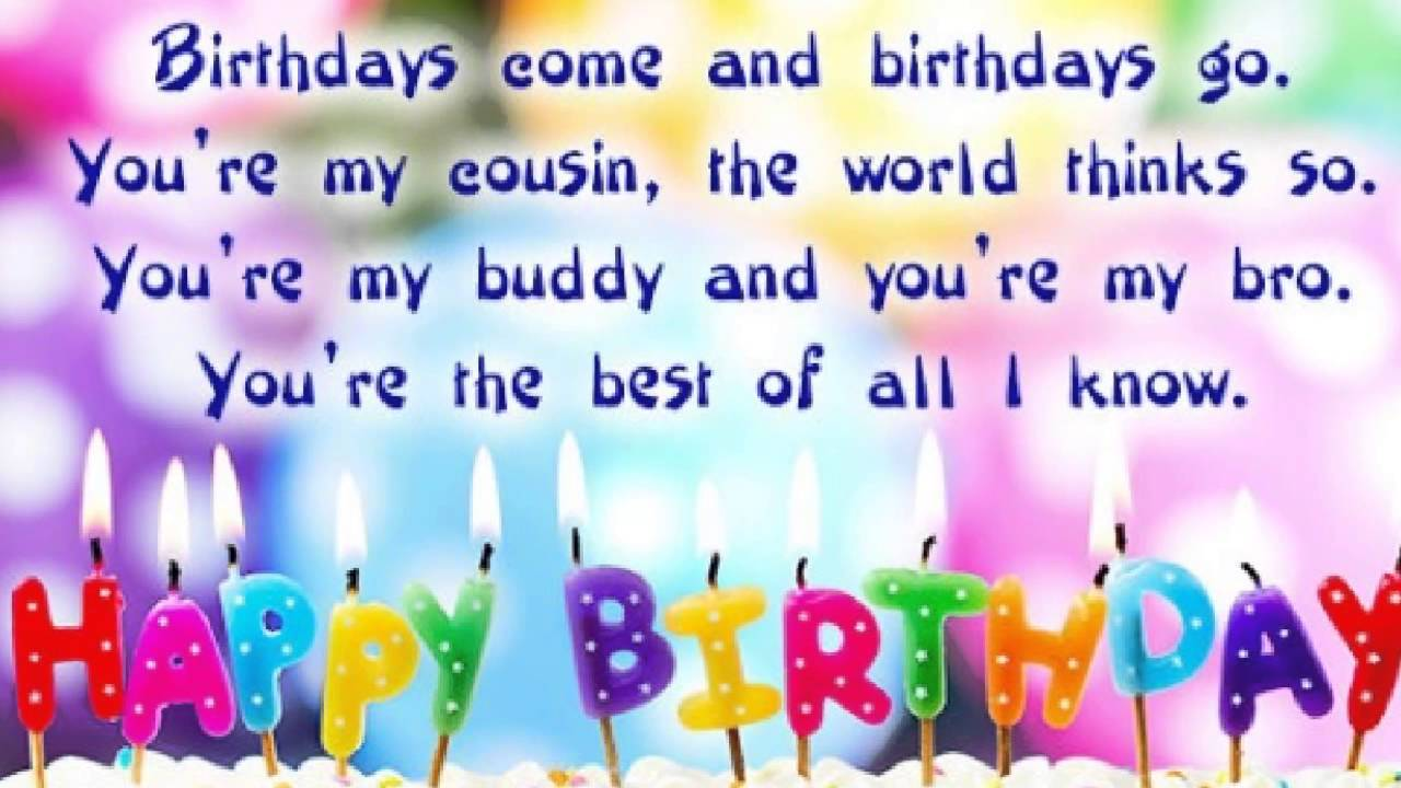 happy birthday cousin images and quotes ; maxresdefault