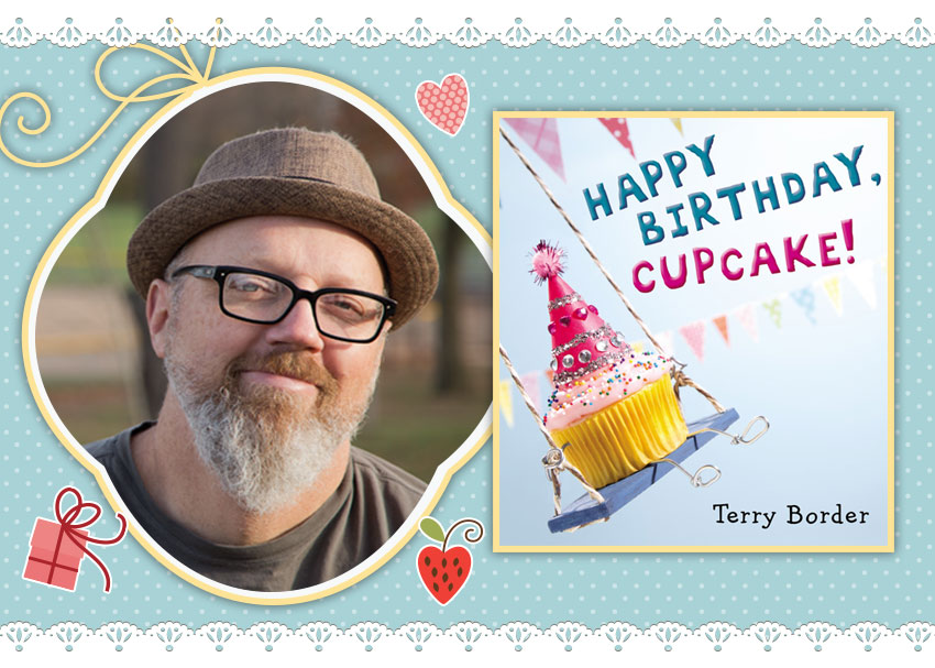 happy birthday cupcake terry border ; happy-birthday-cupcake-feat