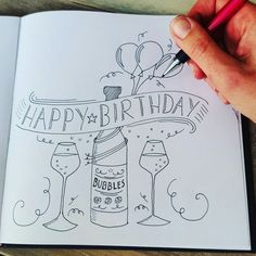 happy birthday drawing ; fb4349c4b9242eba9e3d1a3ed77c9309--doodle-happy-birthday-birthday-drawing-doodles