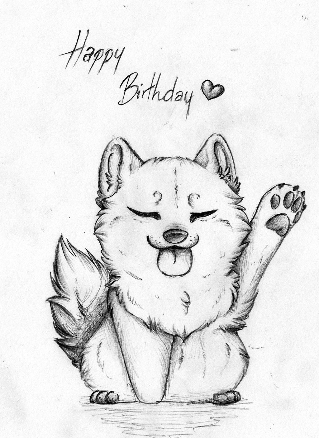 happy birthday drawing ; happy_birthday__by_pandoraswolf-d6vyibc