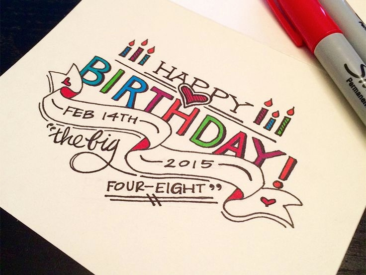 happy birthday drawing designs ; easy-to-draw-birthday-card-designs-fresh-drawn-birthday-happy-birthday-pencil-and-in-color-drawn-birthday-of-easy-to-draw-birthday-card-designs