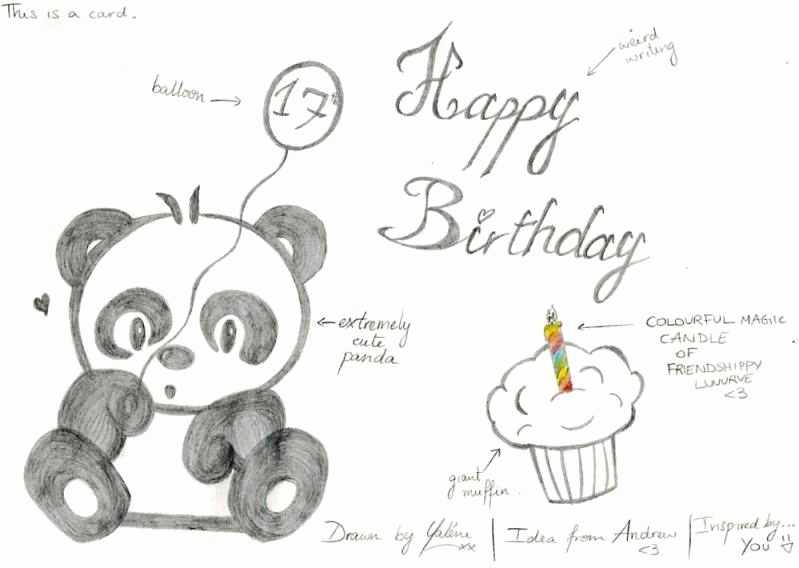 happy birthday drawing designs ; happy-birthday-card-drawing-inspirational-panda-birthday-card-by-kaydeeyaleni-on-deviantart-of-happy-birthday-card-drawing
