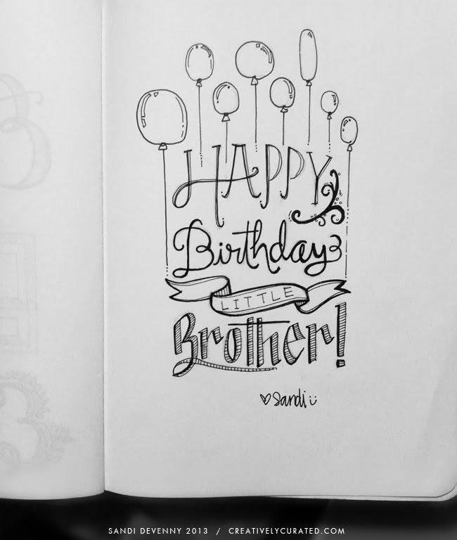 happy birthday drawing ideas ; 340a822483b451dde767c542837a3a90