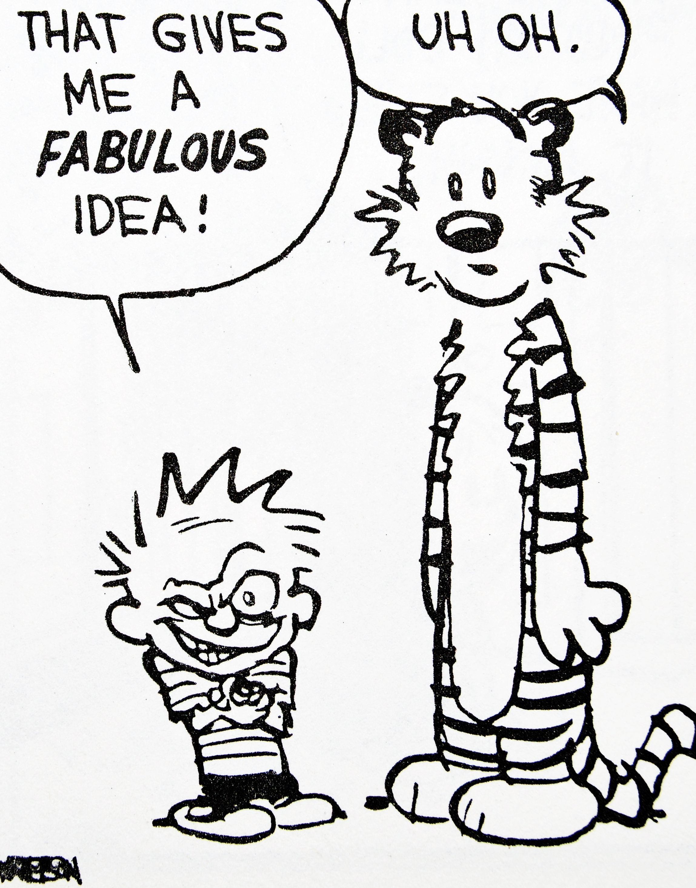 happy birthday drawing ideas ; drawing-calvin-and-hobbes-happy-birthday-calvin-hobbes-pinterest-happy-birthday