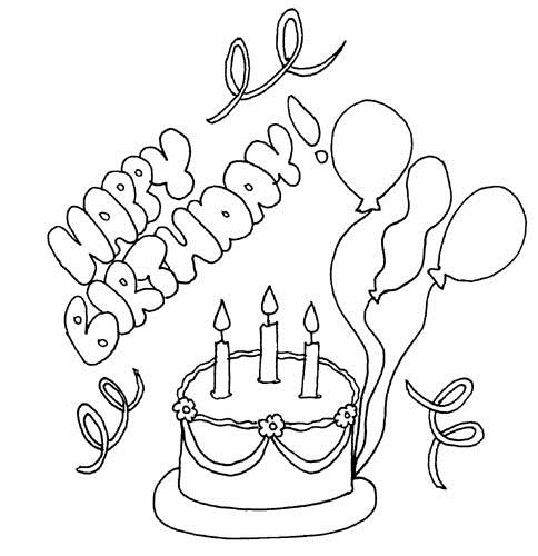 happy birthday drawing images ; happy-Birthday-coloring