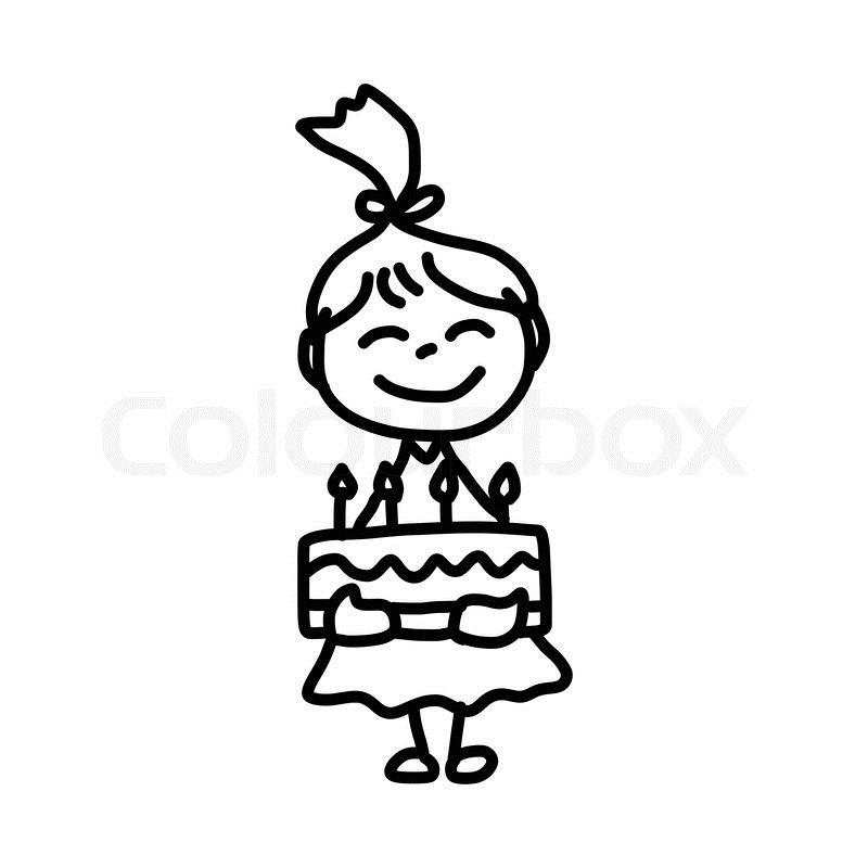 happy birthday drawing pictures ; 10542111-hand-drawing-cartoon-birthday
