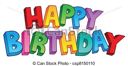 happy birthday free clipart images ; happy-birthday-big-sign-1-vector-clipart_csp8150110