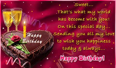 happy birthday friend quotes card ; birthday-quotes-for-wife