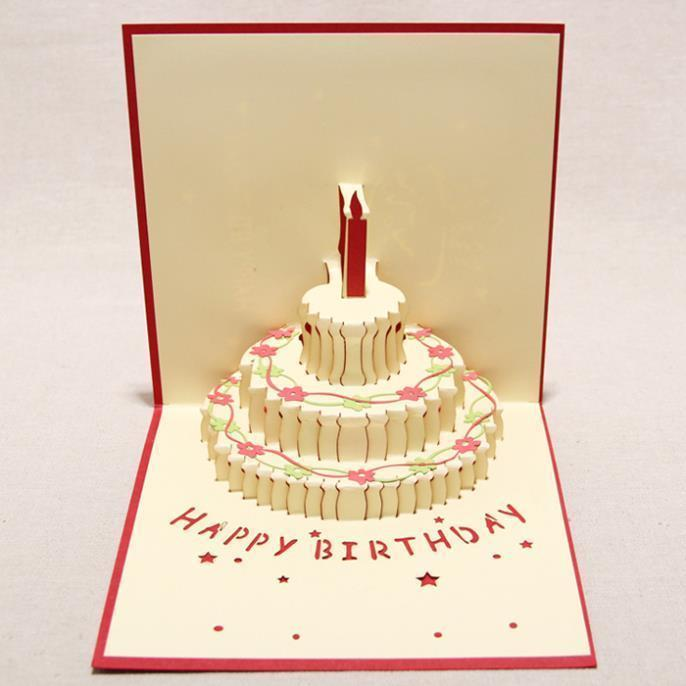 happy birthday greeting card design ; nice-new-2d-handmade-card-greeting-cards