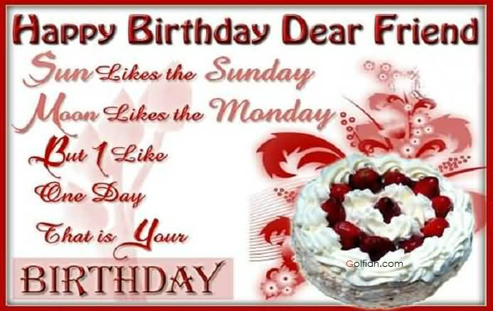 happy birthday greeting message for friend ; Best-Message-Birthday-Wishes-For-Dear-Friend