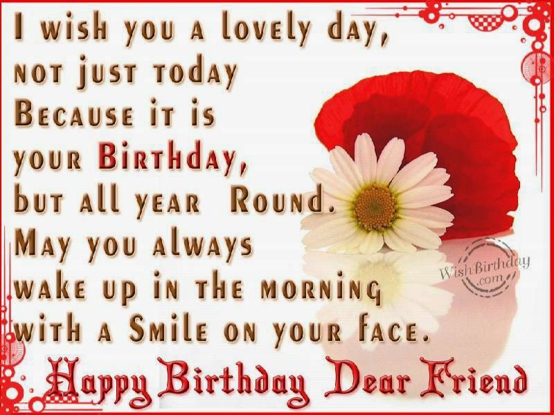happy birthday greeting message for friend ; Birthday-Greetings-To-A-Friend-Far-Away-As-Well-As-Birthday-Wishes-To-A-Distant-Friend-Together-With-Birthday-Wishes-To-A-Family-Friend