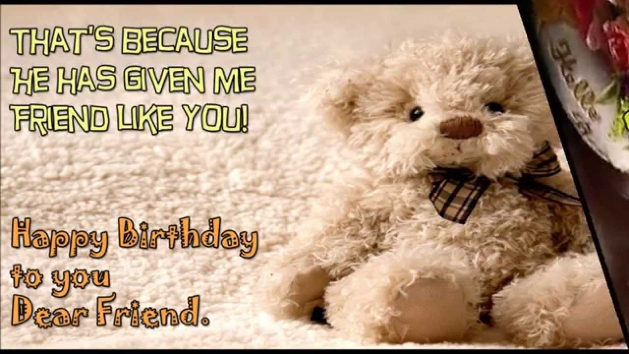 happy birthday greeting message for friend ; maxresdefault