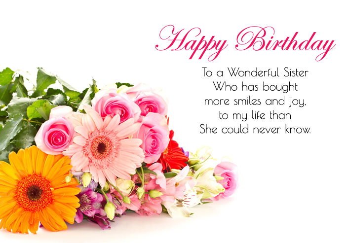happy birthday images and quotes ; birthday-quotes-for-sister