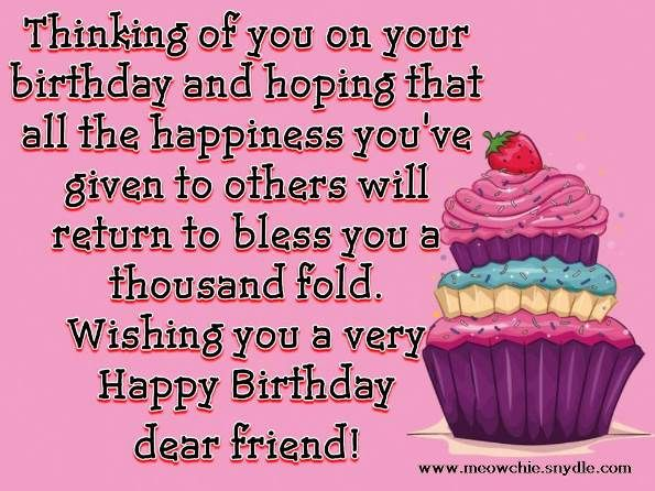 happy birthday images for friend with quote ; 72-best-birthday-quotes-images-on-pinterest-birthday-wishes-wordings-for-friends-birthday