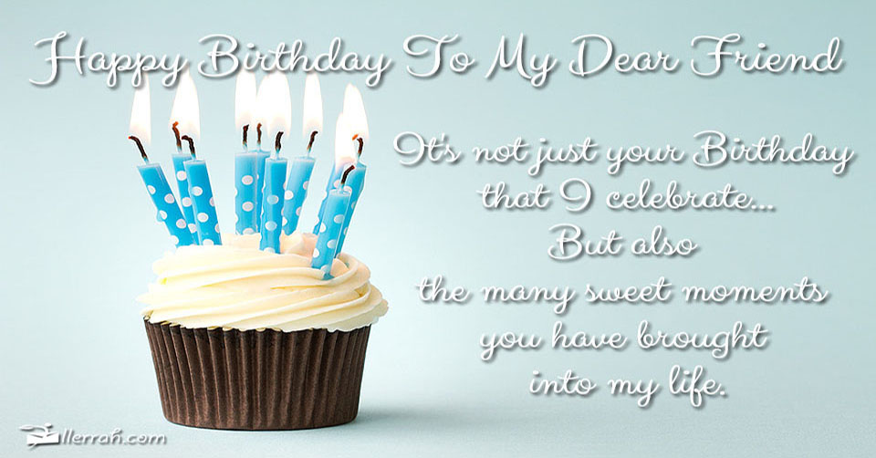 happy birthday images for friend with quote ; d50c3f5087f1a7acbb4393edfe681b47