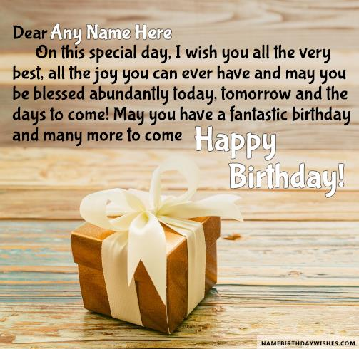 happy birthday images for friend with quote ; gift-for-you-birthday-wishes-for-friend-with-name37fe