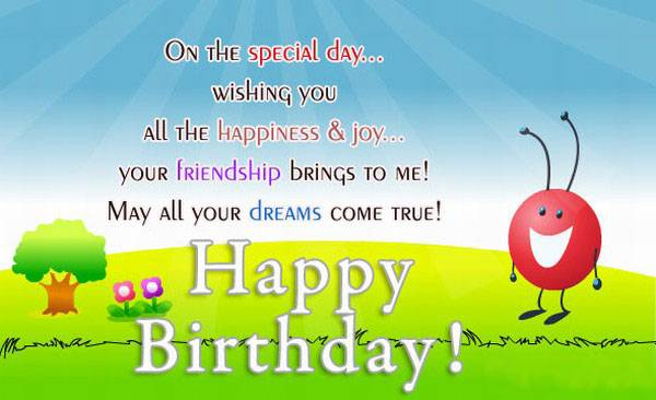 happy birthday images for friend with quote ; happy-birthday-quotes-for-friends
