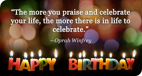 happy birthday images with quotes ; birthday-quotes-and-sayings-oprah