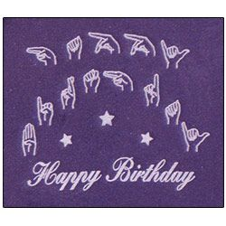 happy birthday in sign language image ; 19ac24be8ce010470a8f8bf0b0ef45c3