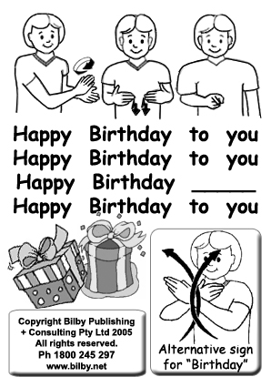 happy birthday in sign language image ; fd925291d2ab9086206684bb70baa513