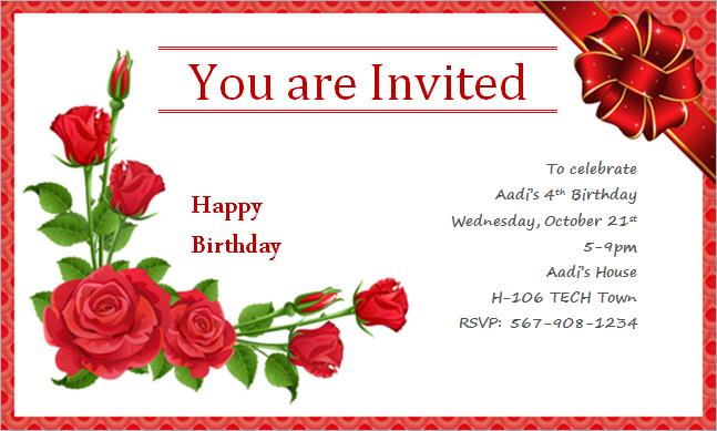 happy birthday invitation card design ; Happy-Birthday-Invitation-Card-to-create-a-charming-Birthday-invitation-design-with-charming-appearance-1