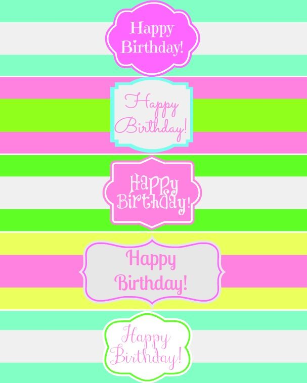 happy birthday label template ; a8344ffbf86cd0283c8279e77803efeb